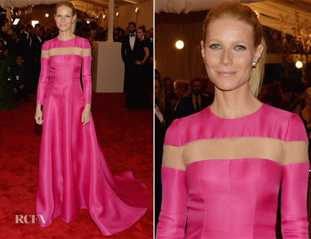 Gwyneth Paltrow In Valentino Couture - 2013 Met Gala