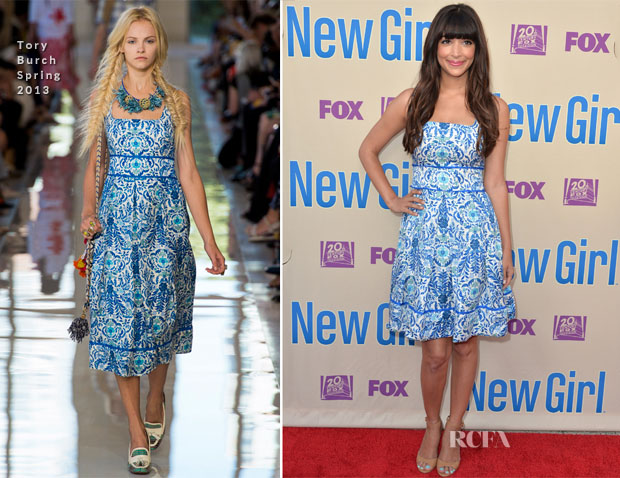 Hannah Simone In Tory Burch - Screening And Q&A For Fox's 'New Girl'