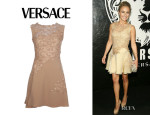 Hayden Panettiere's Versace Lace Dress