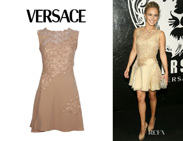 Hayden Panettiere S Versace Lace Dress
