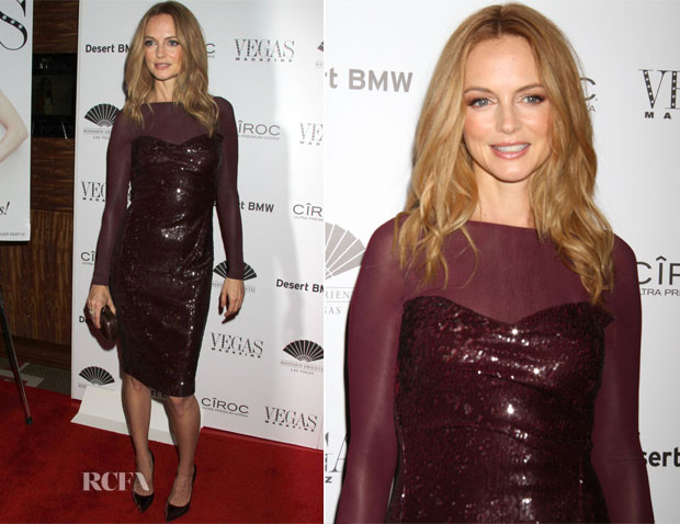 Heather Graham In Donna Karan - Vegas Magazine's 10th Anniversary Celebration