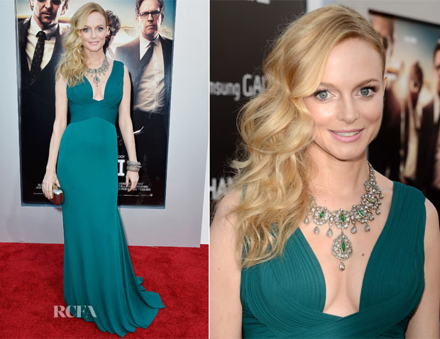 Heather Graham In Herve L Leroux - 'The Hangover Part III' LA Premiere