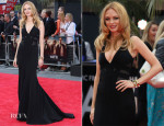 Heather Graham In Max Azria Atelier - 'The Hangover III' London Premiere