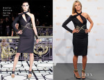 Heidi Klum In  Atelier Versace  - Germany's Next Top Model Photocall