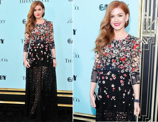 Isla Fisher In Dolce & Gabbana - 'The Great Gatsby' World Premiere