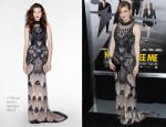 Isla Fisher In L'Wren Scott - 'Now You See Me' New York Premiere