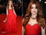 Isla Fisher In Oscar de la Renta - 'The Great Gatsby' Premiere & Cannes Film Festival Opening Ceremony