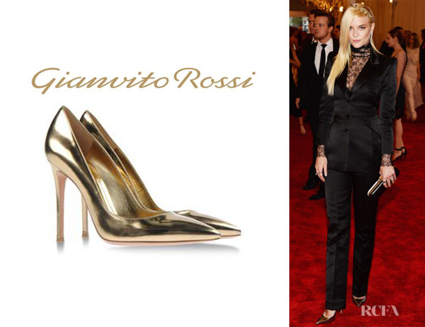 Jaime King's Gianvito Rossi Pumps