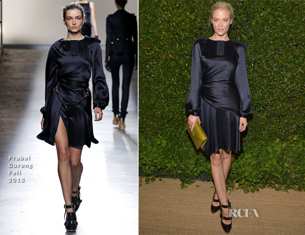 Jaimie King In Prabal Gurung - Vogue and MAC Cosmetics Dinner Party