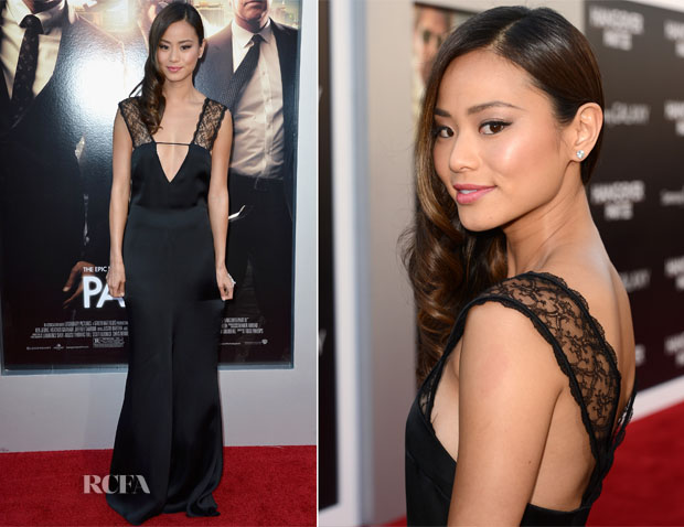 Jamie Chung In Giorgio Armani - 'The Hangover Part III' LA Premiere