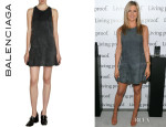 Jennifer Aniston's Balenciaga Flared Dress