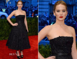 Jennifer Lawrence In Christian Dior - 2013 Met Gala