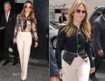 Jennifer Lopez In Dolce & Gabbana - 2013 NUVOtv Upfront Presentation