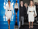 Jennifer Lopez In Reem Acra - En Route To 'The Graham Norton Show'