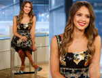 Jessica Alba In Dolce & Gabbana - The Today Show