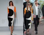 Jessica Biel In Roksanda Ilincic - Le Grand Journal