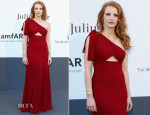 Jessica Chastain In Saint Laurent - amfAR Cinema Against AIDS Gala
