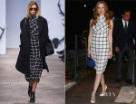Jessica Chastain In Trussardi - Fondazione Nicola Trussardi Cocktail Party