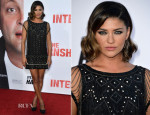Jessica Szohr In Haute Hippie - 'The Internship' LA Premiere