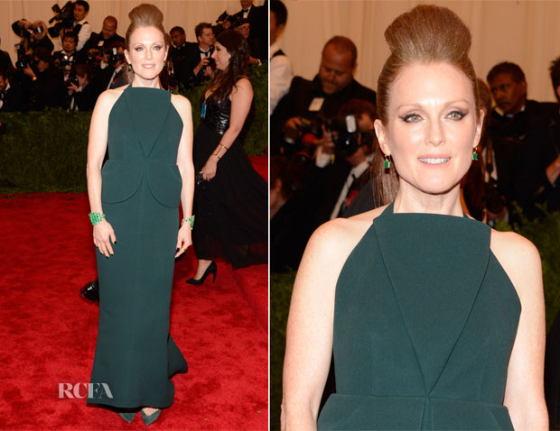 Julianna Moore In Balenciaga - 2013 Met Gala