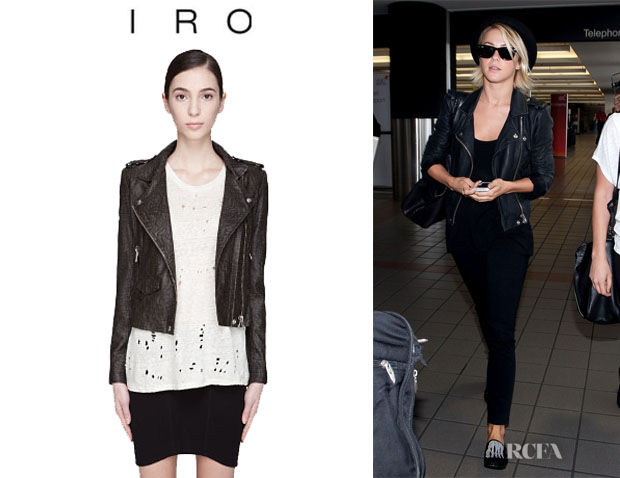 Julianne Hough's Iro 'Jeff' Biker Jacket