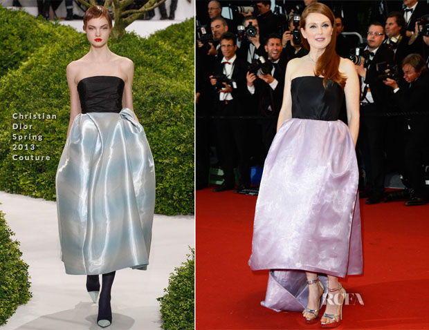 Julianne Moore In Christian Dior Couture - 'The Great Gatsby' Premiere & Cannes Film Festival Opening Ceremony