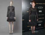 Julianne Moore In Valentino - 'What Maisie Knew' New York Screening