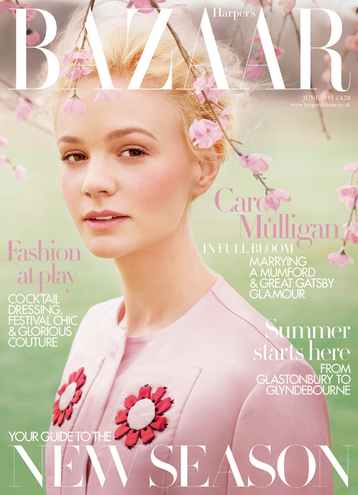 Carey Mulligan - June Cover - Harper's Bazaar