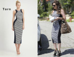 Khloe Kardashian's Torn Shiran Dress