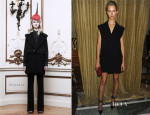 Karolina Kurkova In Givenchy - Moda Operandi's 'A Midnight Supper' Event