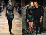Kate Bosworth In Balmain - Moda Operandi's 'A Midnight Supper' Event