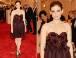 Kate Mara In Delpozo by Josep Font - 2013 Met Gala