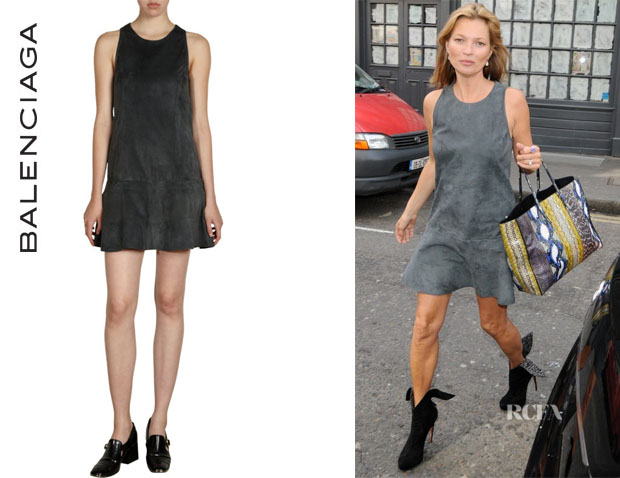 Kate Moss' Balenciaga Flared Dress