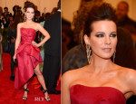 Kate Beckinsale In Alberta Ferretti – 2013 Met Gala