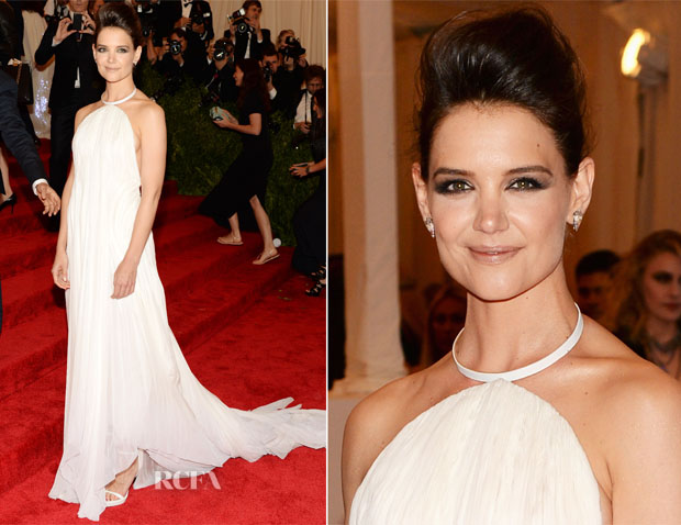 Katie Holmes In Calvin Klein Collection - 2013 Met Gala