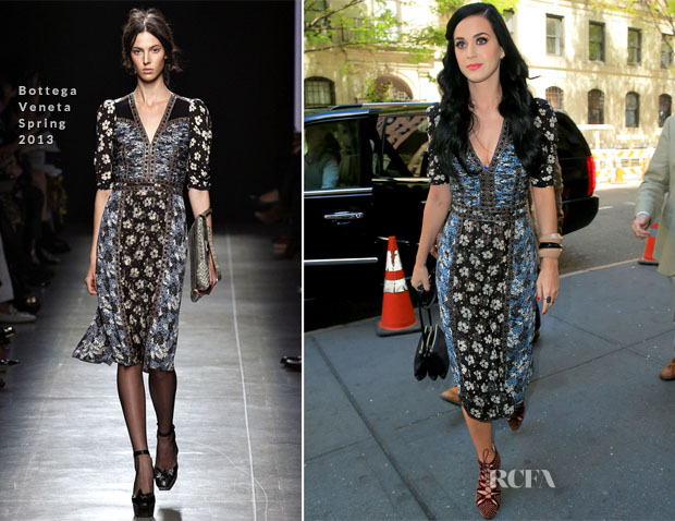 Katy Perry In Bottega Veneta - 'Kinky Boots' Broadway Play