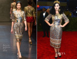 Katy Perry In Dolce & Gabbana - 2013 Met Gala