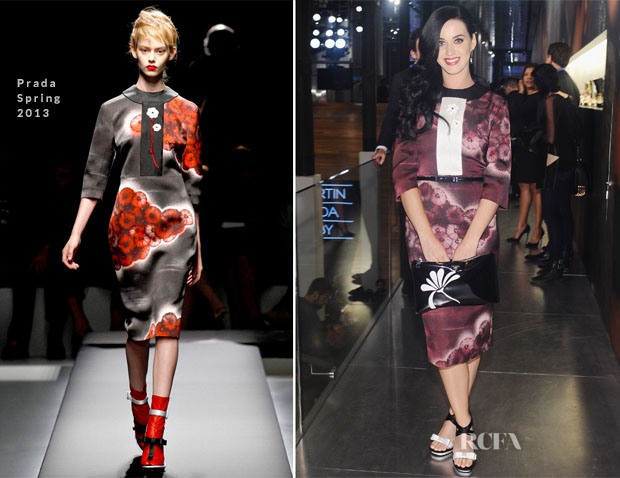 Katy Perry In Prada - Catherine Martin and Miuccia Prada 'The Great Gatsby' Dresses Opening Exhibit