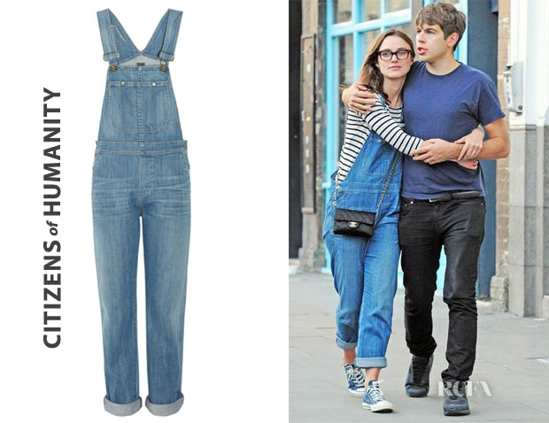 Keira Knightley's Citizens of Humanity Quincy Overalls