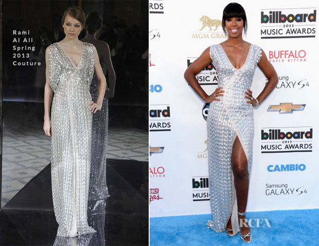 Kelly Rowland In Rami Al Ali Couture - 2013 Billboard Music Awards