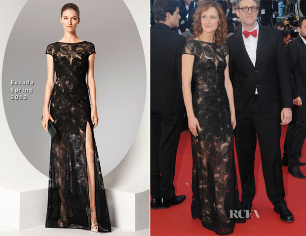 Kerry Bishe In Escada -  'Max Rose' Cannes Film Festival Premiere