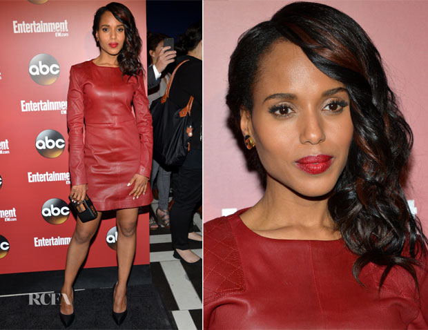 Kerry Washington In Marc by Marc Jacobs - Entertainment Weekly & ABC 2013 New York Upfront Party