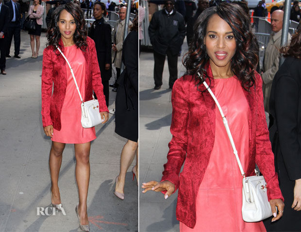 Kerry Washington In Miss Wu - GMA
