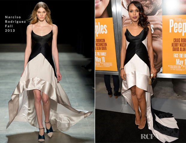 Kerry Washington In Narciso Rodriguez - 'Peeples' LA Premiere