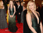 Kirsten Dunst In Louis Vuitton - 2013 Met Gala
