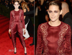 Kristen Stewart In Stella McCartney - 2013 Met Gala