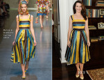 Kristin Davis In Dolce & Gabbana -  P.S. ARTS' Bag Lunch