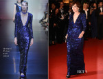 Kristin Scott Thomas In Armani Privé - 'Only God Forgives' Cannes Film Festival Premiere