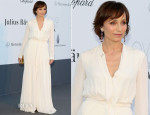 Kristin Scott Thomas In Lanvin - amfAR Cinema Against AIDS Gala