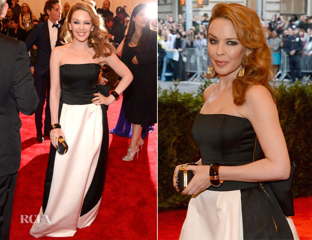 Kylie Minogue In Moschino - 2013 Met Gala